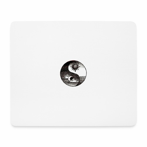 SUN AND MOON - Mouse Pad (horizontal)