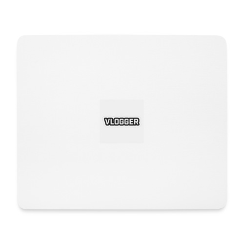 YOUTUBE VLOGGER MOUSE MAT - Mouse Pad (horizontal)
