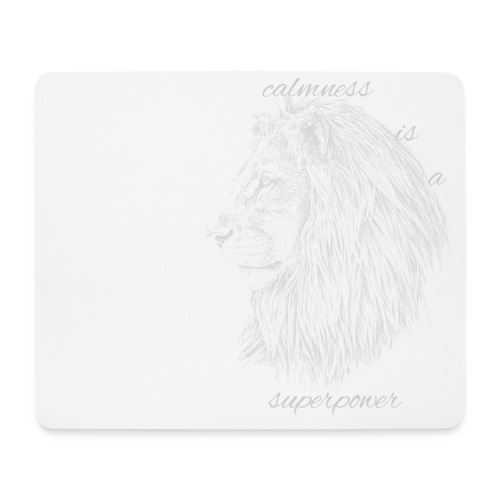 Calmness is a superpower - Tappetino per mouse (orizzontale)