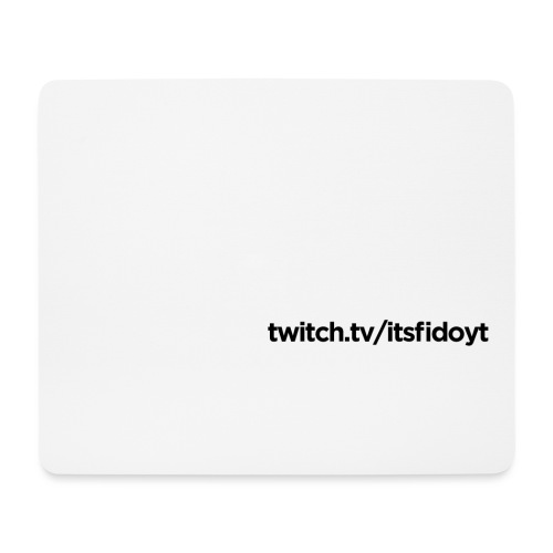 Fido - Twitch Link - Mousepad (bredformat)
