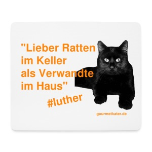 Luther-Zitat - Mousepad (Querformat)