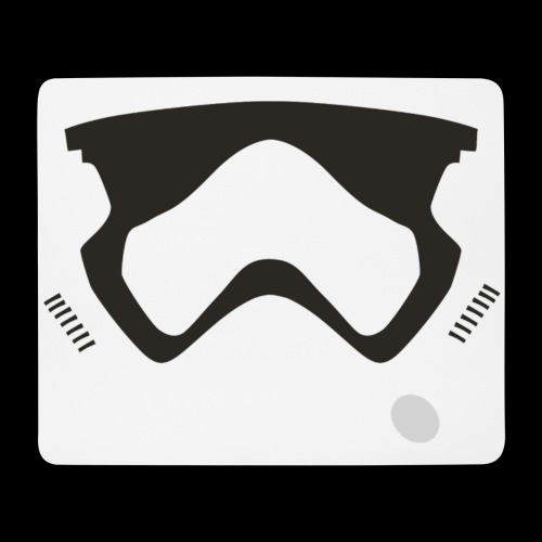 Modern Stormtrooper Face - Mouse Pad (horizontal)