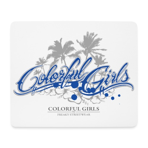 Colorful Girls Logo - Mousepad (Querformat)