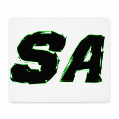 Svart SA Logo - Musmatta (liggande format)
