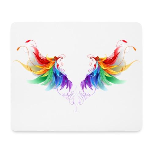 Ailes d'Archanges aux belles couleurs vives - Tapis de souris (format paysage)