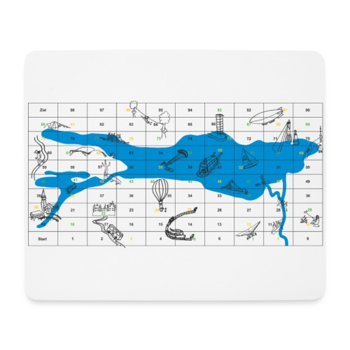 Bodensee Leiterlispiel - Mousepad (Querformat)