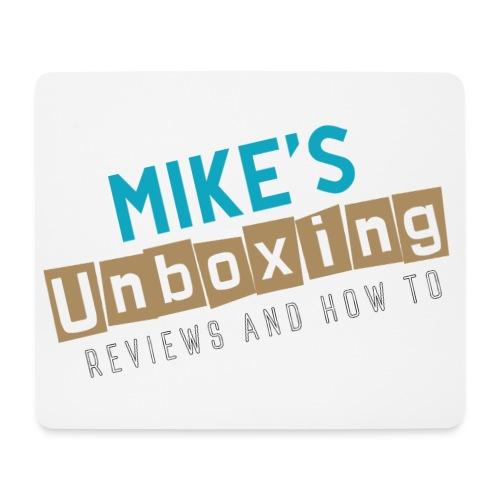 Mikesunboxing Classic Logo - Mouse Pad (horizontal)