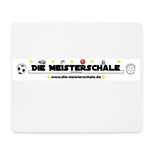 Die Meisterschale Logo Banner1 jpg - Mousepad (Querformat)