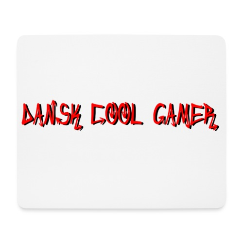 Dansk cool Gamer - Mousepad (bredformat)