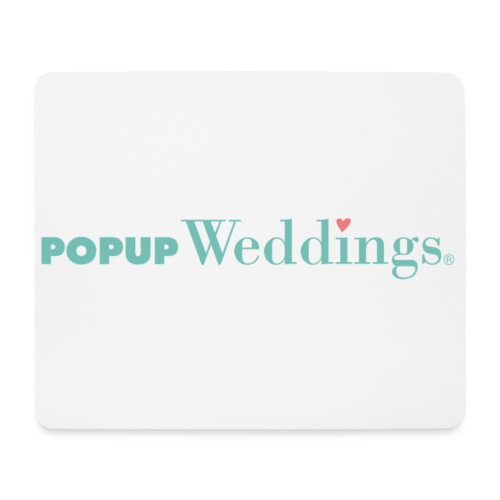 Popup Weddings - Mouse Pad (horizontal)