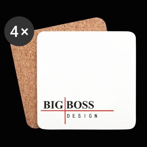 BigBossDesign Logo - Untersetzer (4er-Set)