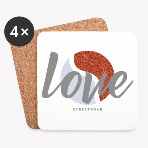 LOVE street wear - Dessous de verre (lot de 4)