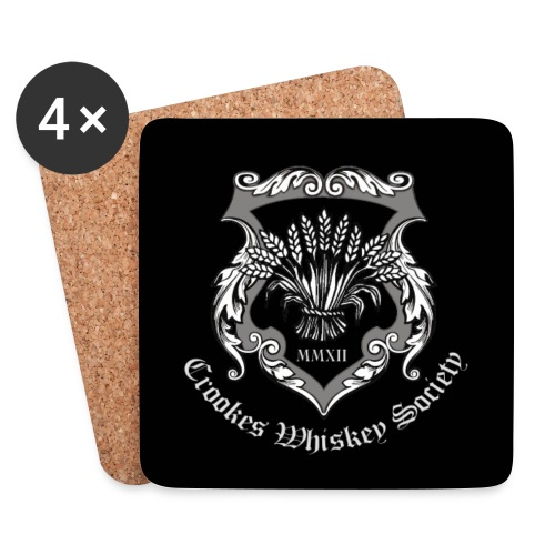 CWS Logo w black border - Coasters (set of 4)