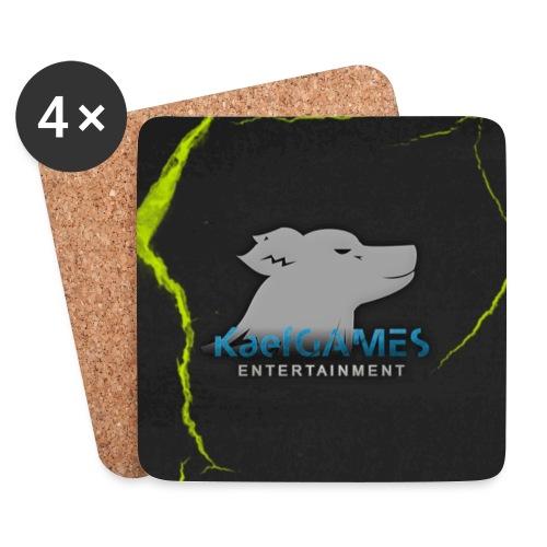 mousepad kg green - Untersetzer (4er-Set)