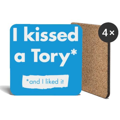I Kissed A Tory - Coasters (set of 4)