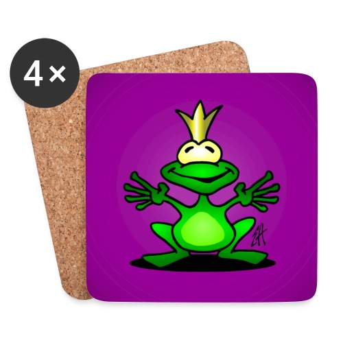 Frog prince - Coasters (set of 4)