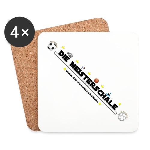 Die Meisterschale Logo Banner1 jpg - Untersetzer (4er-Set)
