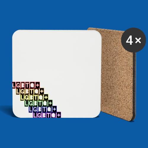 LGBTQ+ Raibow - Untersetzer (4er-Set)