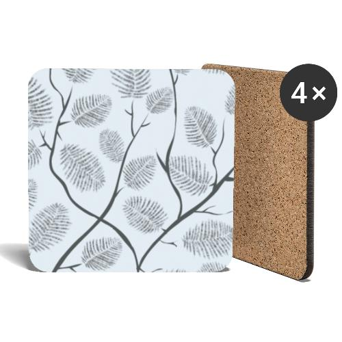 Lovedesh BD Tree feather - Coasters (set of 4)