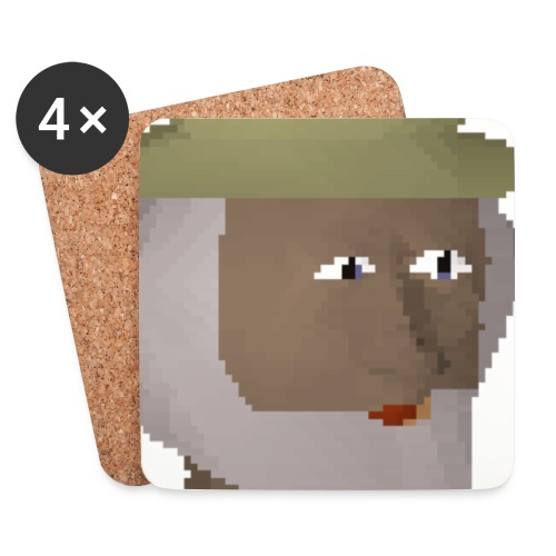 nekruiso - Lasinalustat (4 kpl:n setti)
