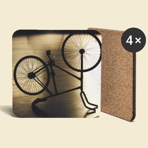 Poster | Radball | Cycle Ball 05 - Untersetzer (4er-Set)