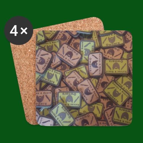 Patch floor - Untersetzer (4er-Set)