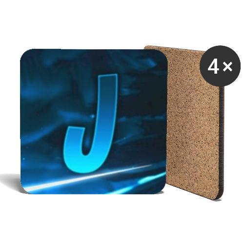 JustOnlyAPlayer Logo - Untersetzer (4er-Set)