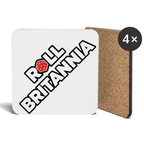 Roll Britannia Logo - Coasters (set of 4)
