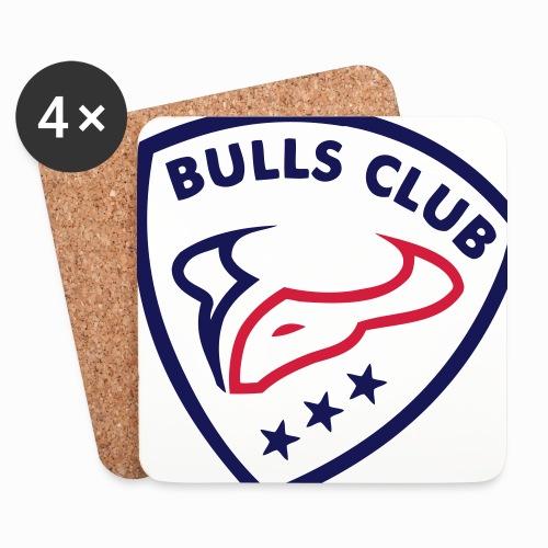 Logo BULLS CLUB - Untersetzer (4er-Set)