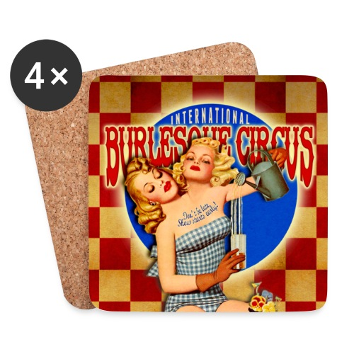 International Burlesque Circus - Freaks & Geeks - Coasters (set of 4)