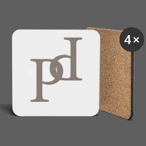 PP Logo Collection V1 - Untersetzer (4er-Set)
