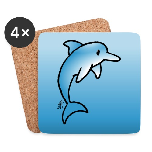 Dolphin - Coasters (set of 4)