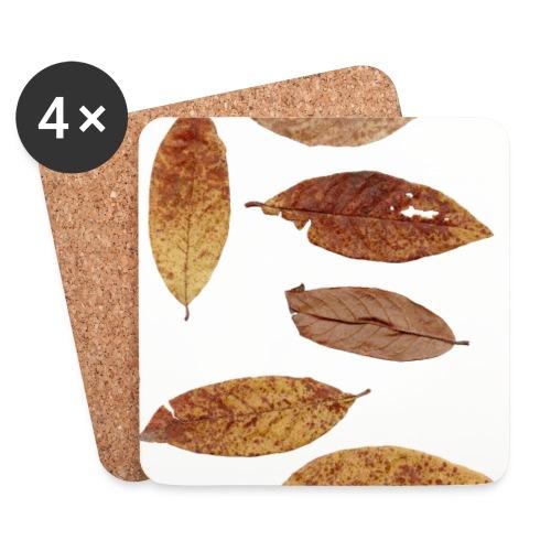 Bunte Blätter - Untersetzer (4er-Set)