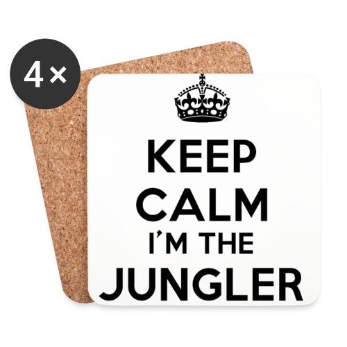Keep calm I'm the Jungler - Dessous de verre (lot de 4)