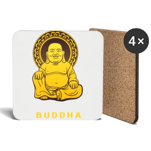 Funky Buddha - Untersetzer (4er-Set)