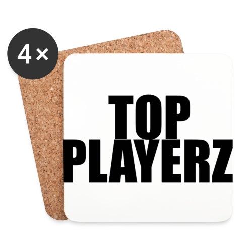 TopPlayer - Sottobicchieri (set da 4 pezzi)