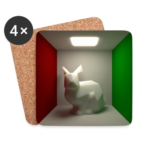 Bunny in a Box - Coasters (set of 4)