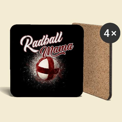 Radball | Mama Maske - Untersetzer (4er-Set)