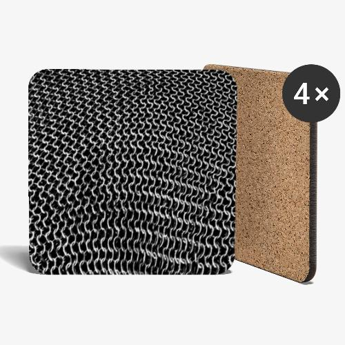 chain mail by patjila 2021 SP - Coasters (set of 4)