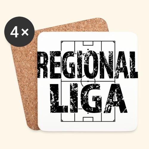 REGIONALLIGA im Fußballfeld - Untersetzer (4er-Set)