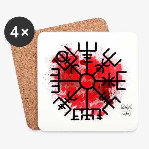 Vegvisr red300 - Underlägg (4-pack)
