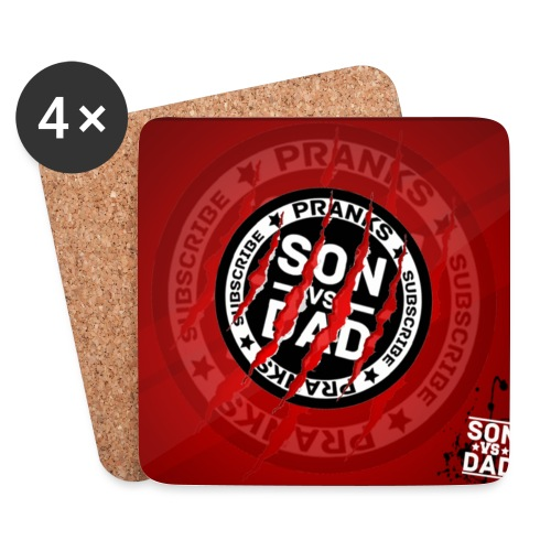 Mouse pad - Coasters (set of 4)
