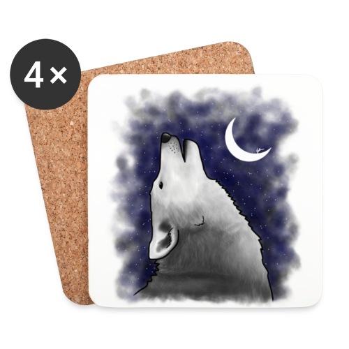 Wolf - Coasters (set of 4)
