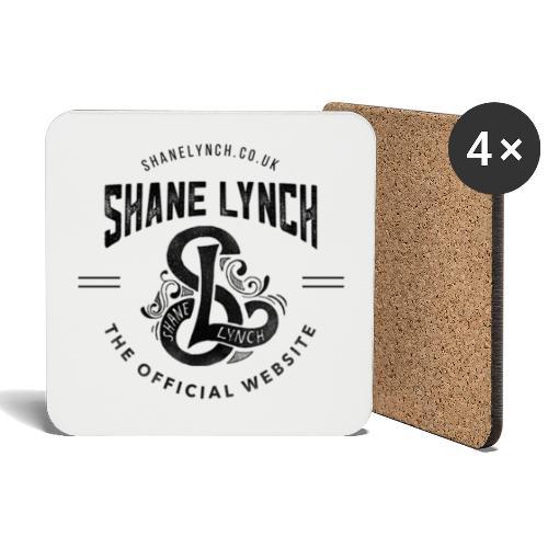 Black - Shane Lynch Logo - Coasters (set of 4)