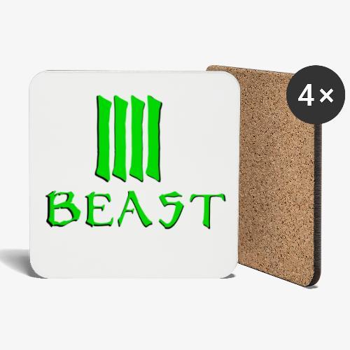 Beast Green - Coasters (set of 4)