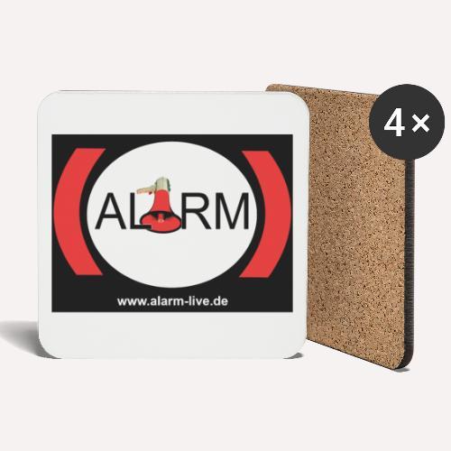 Alarm - Untersetzer (4er-Set)