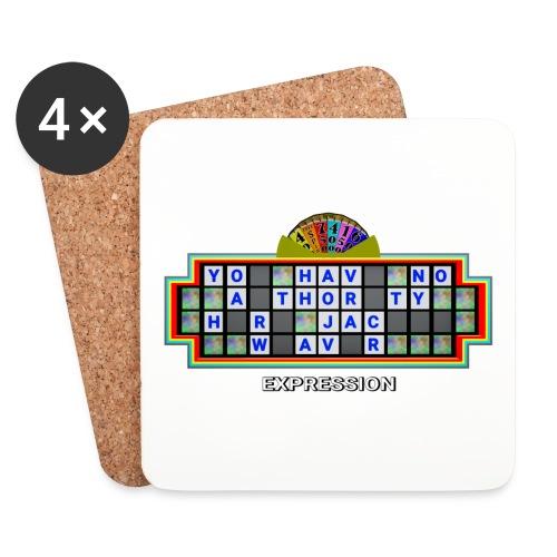 Jackie Weaver Wheel of Fortune - Coasters (set of 4)