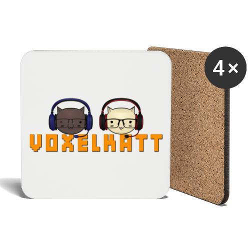 VOXELKATT LOGO - Underlägg (4-pack)