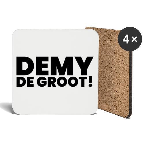 Demy de Groot! - Onderzetters (4 stuks)