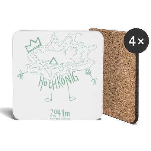 The Hochkoenig Monster - Coasters (set of 4)